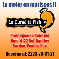 Mariscos en Puebla